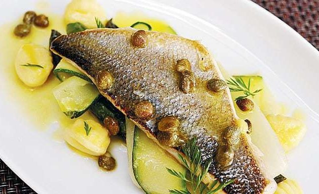 Panfried Seabream