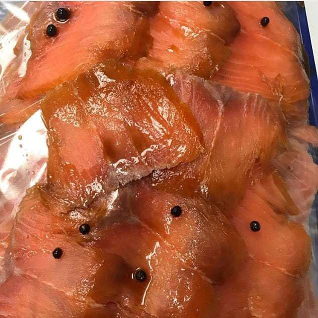 Smoke Salmon And Gin