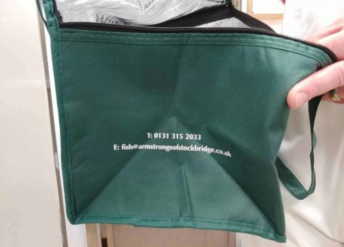 Armstrongs Cooling Bag Side