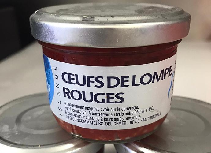 Oeufs De Lompe Rouge (red Lumpfish Eggs)