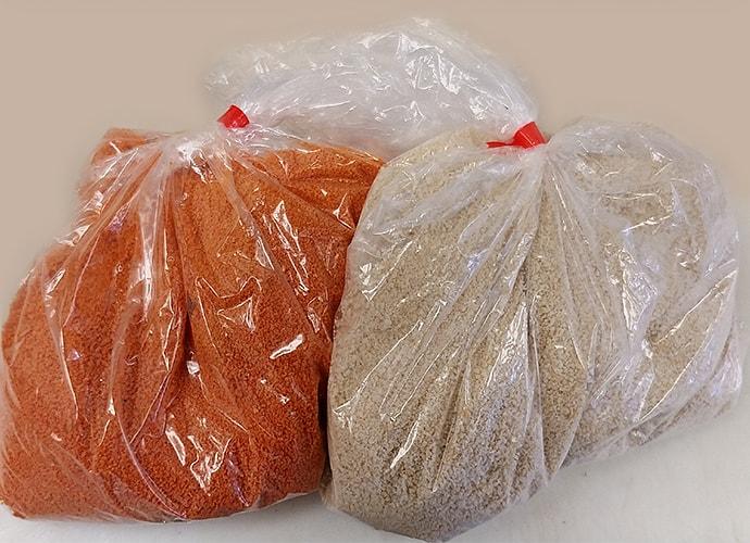 Orange White Breadcrumbs