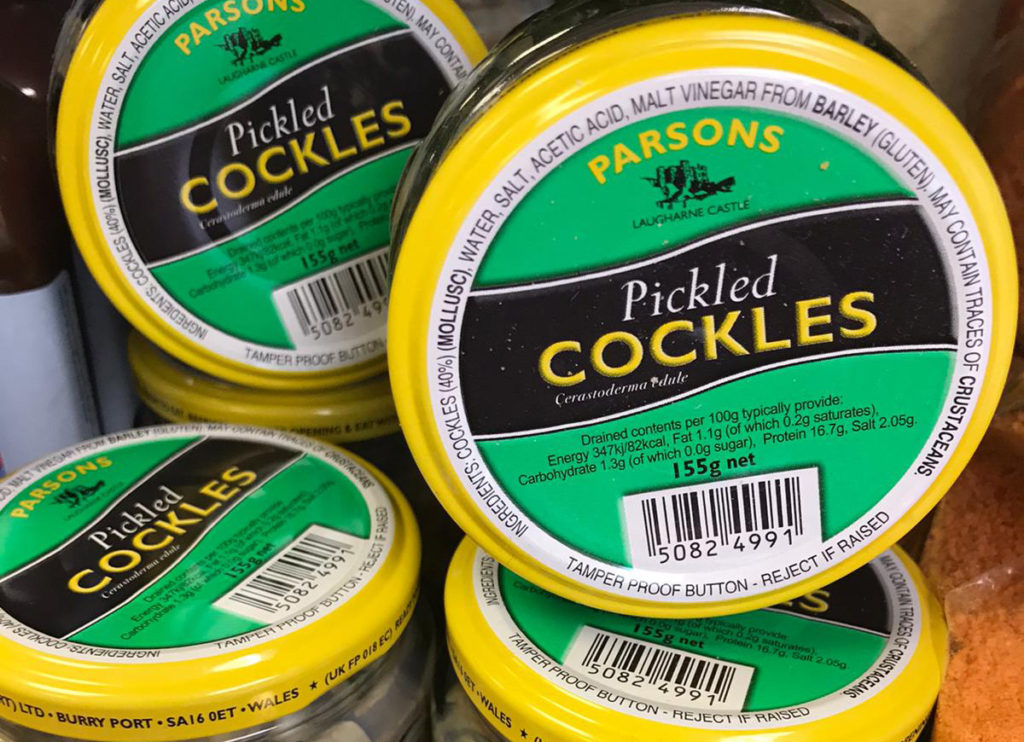 Pickled Cockles
