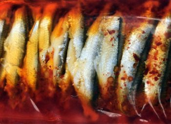 Oriental Marinated Anchovy Fillets In Sunflower Oil